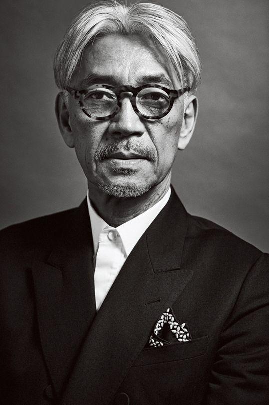 GQ JAPAN 坂本龍一さん 撮影