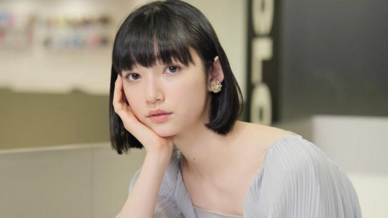 映画『ヤクザと家族 The Family』インタビュー撮影 小宮山莉渚さんヘアメイク
