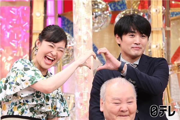 日本テレビ「衝撃のアノ人に会ってみた!」村上佳菜子さん スタイリング