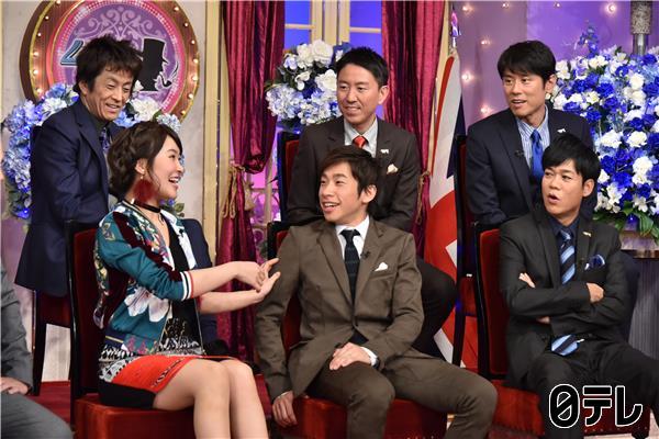 村上佳菜子さん NTV「しゃべくり007」他、TV出演衣装スタイリング