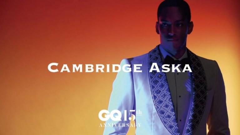 GQ JAPAN15周年記念号 ケンブリッジ飛鳥さん 衣装スタイリング