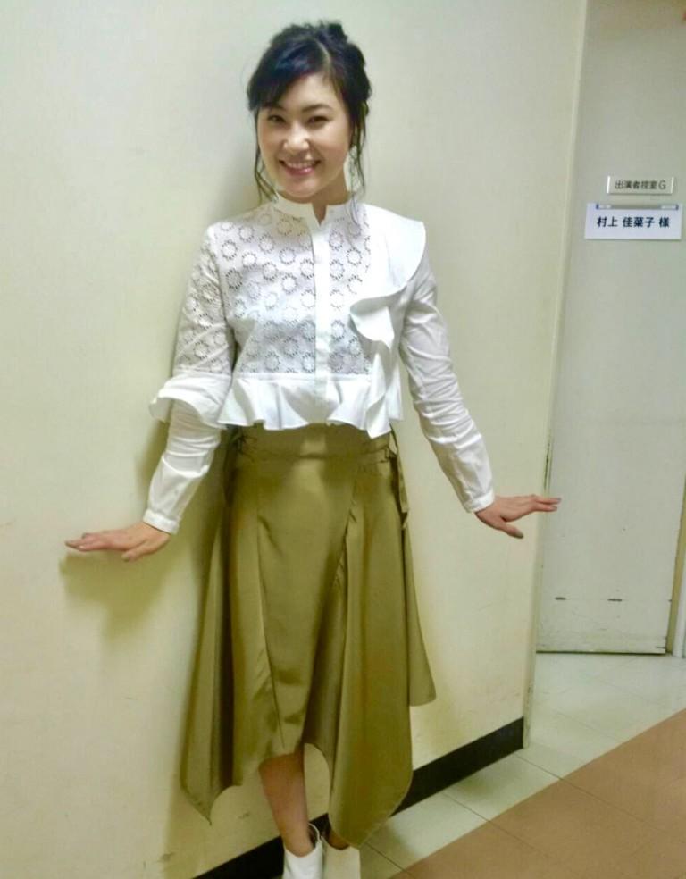 日本テレビ『メレンゲの気持ち』新MC 村上佳菜子さんの衣装を担当