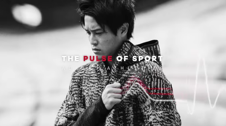 adidas  『THE PULSE OF SPORT 』 楽曲制作