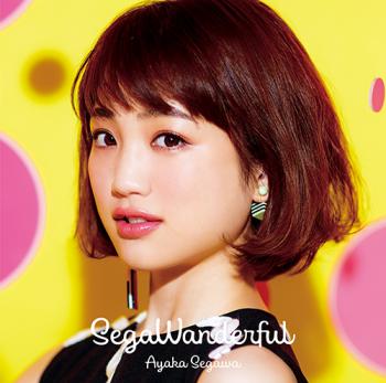 瀬川あやか 1stアルバム「SegaWanderful」(2017.3.15発売)撮影