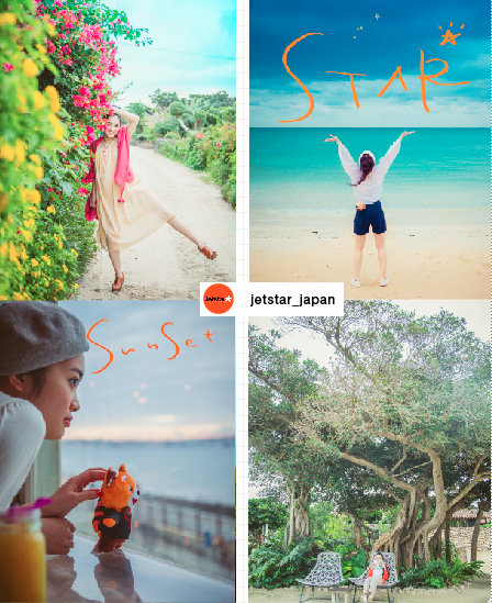 JETSTAR 公式インスタグラム&機内誌 撮影&ヘアメイク&撮影コーディネイト  ロケ地:沖縄