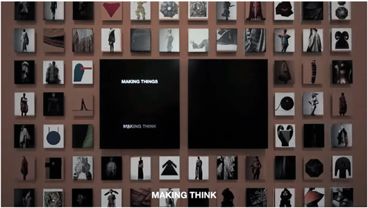 MAKING THINGS / MIYAKE ISSEY EXHIBITION 撮影