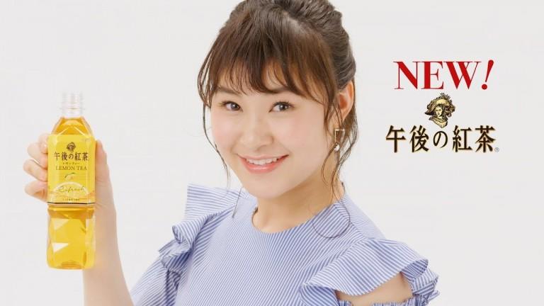キリン 午後の紅茶CM 村上佳菜子さん衣装スタイリング