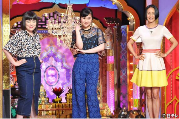 日本テレビ「今夜くらべてみました」村上佳菜子さん 衣装スタイリング