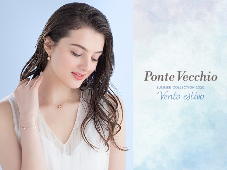 Ponte Vecchio summer collection メインビジュアル撮影