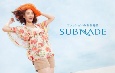 SUBNADE 2011 SUMMER 広告撮影