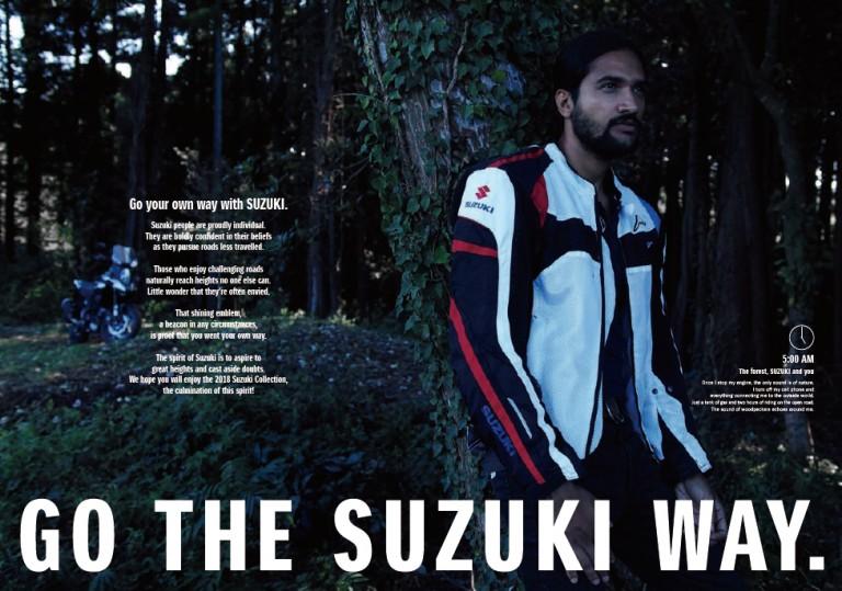SUZUKI グローバル カタログ 撮影