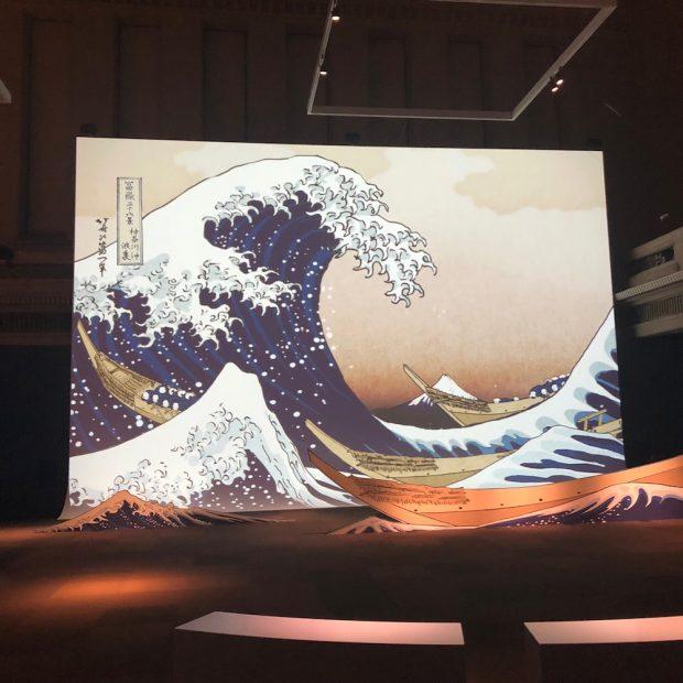 東京国立博物館 「ザバーンドブーン北斎」インタラクティブ映像 音楽制作