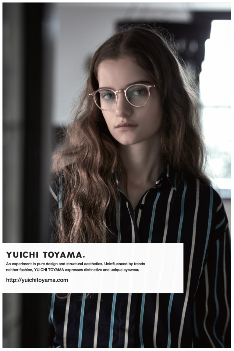 YUICHI TOYAMA. ビジュアル モデルヘアメイク