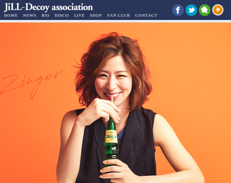 Jill-Decoy association ヘアメイク